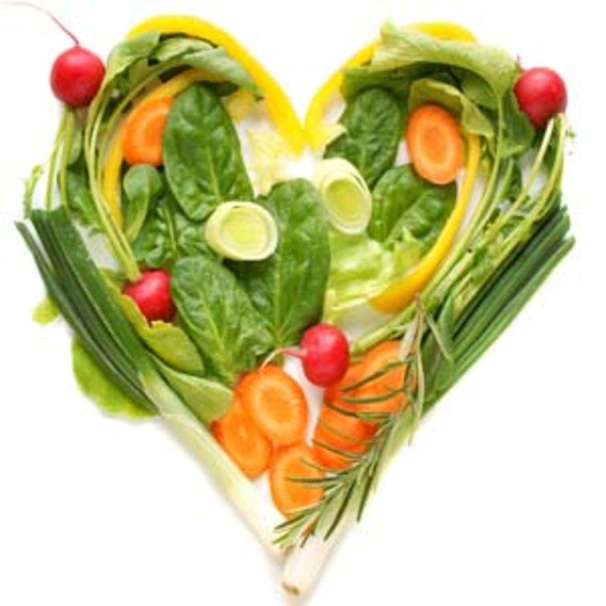 vegan srdce