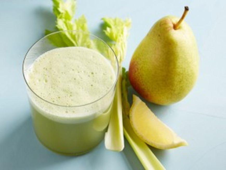 hruška celer juice