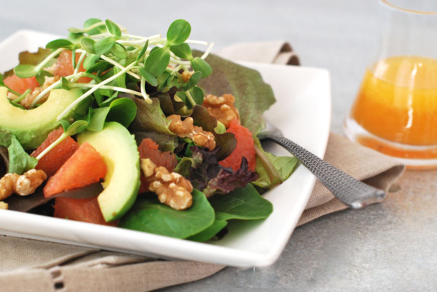 salat avokado