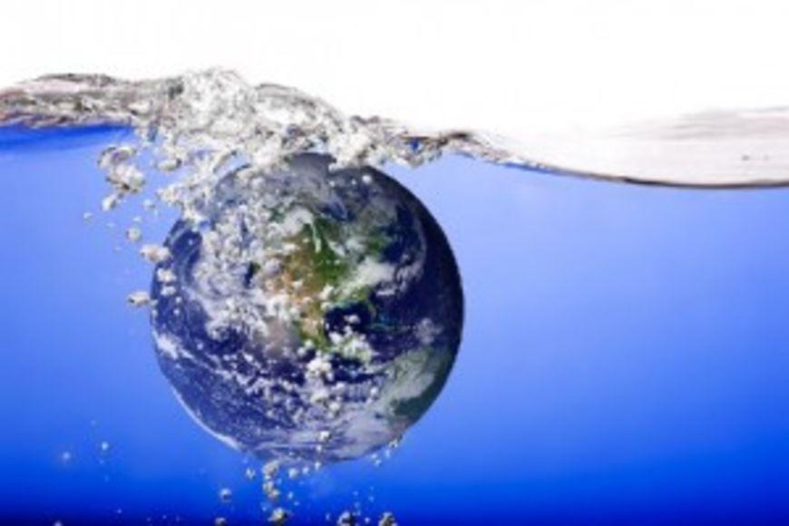 voda země