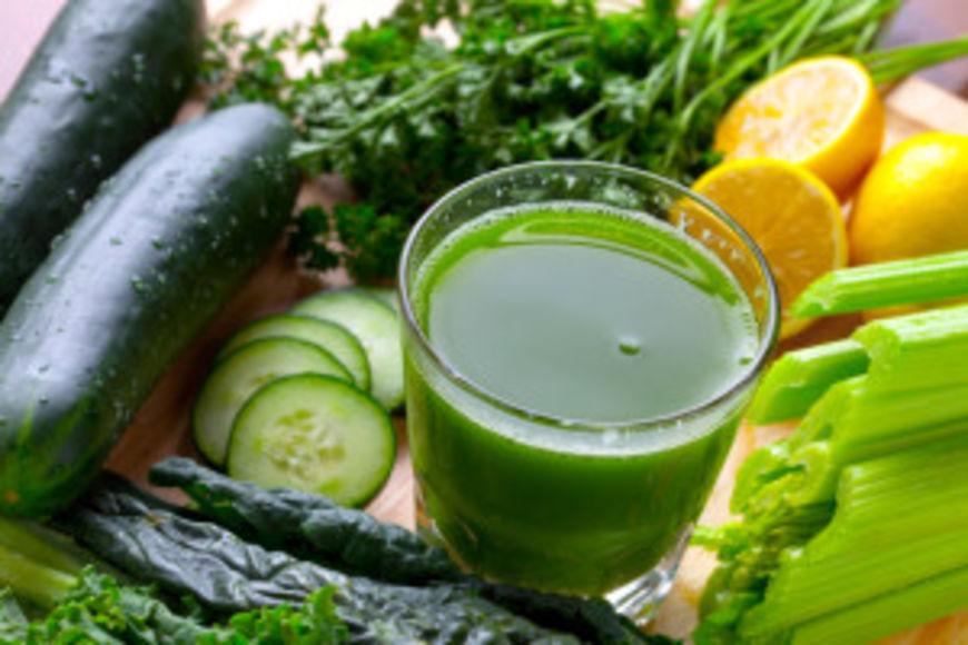 zelena šťáva