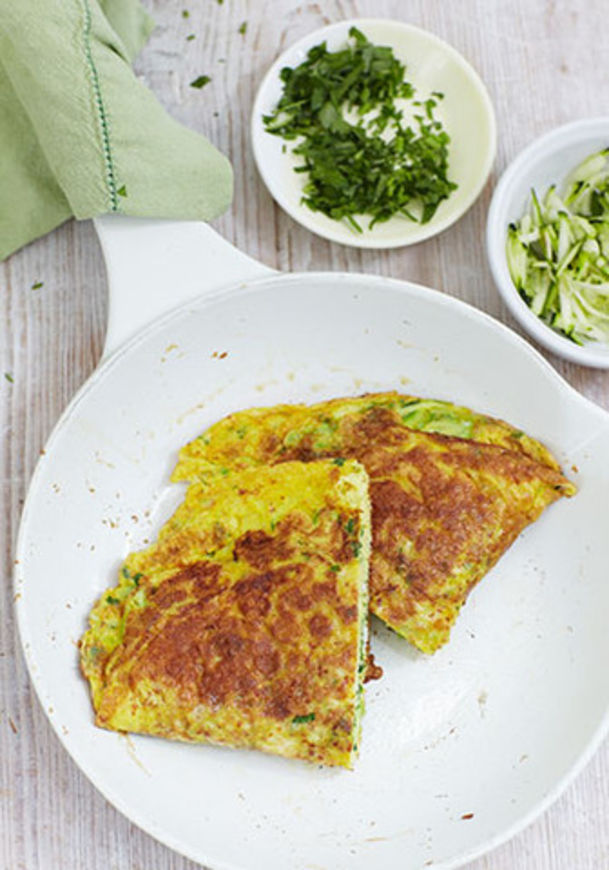 kurkumová omeleta