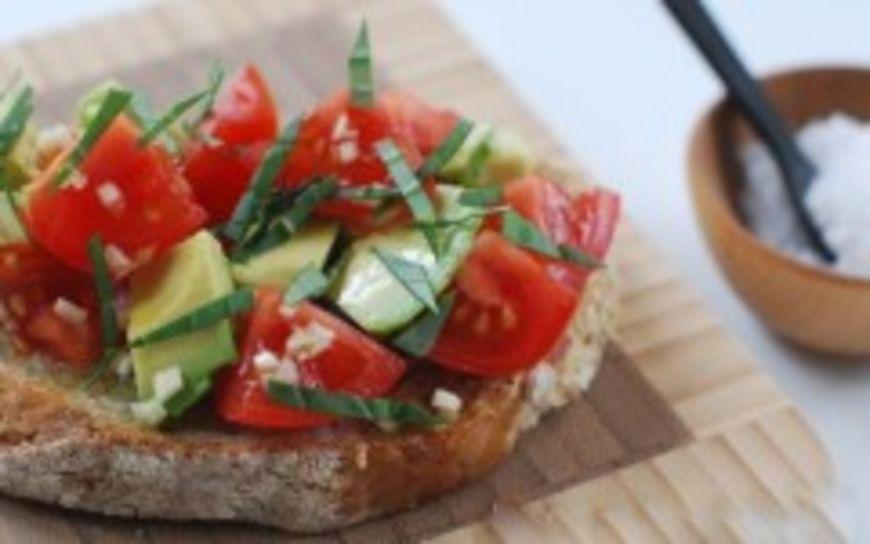 rajčatový toast
