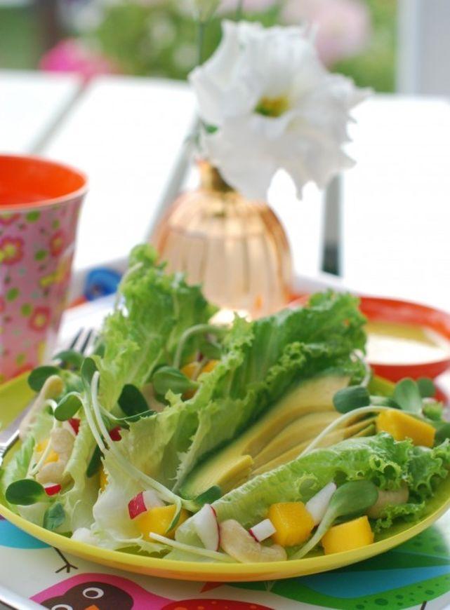 avokádo salát