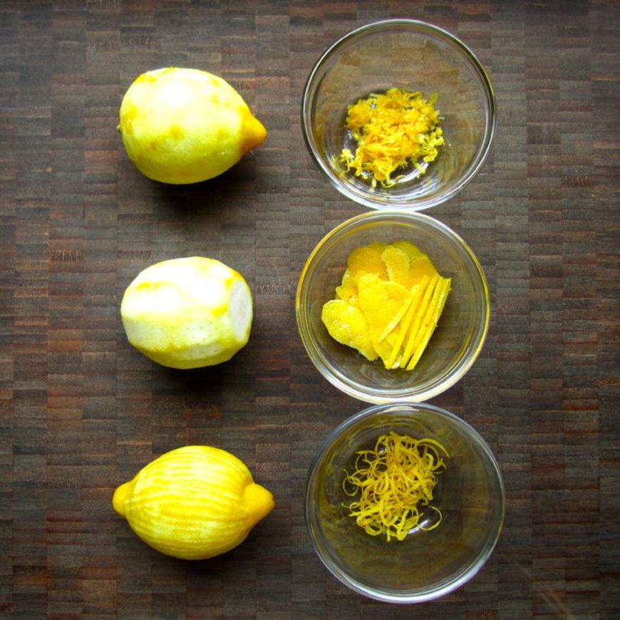 citronová kůra