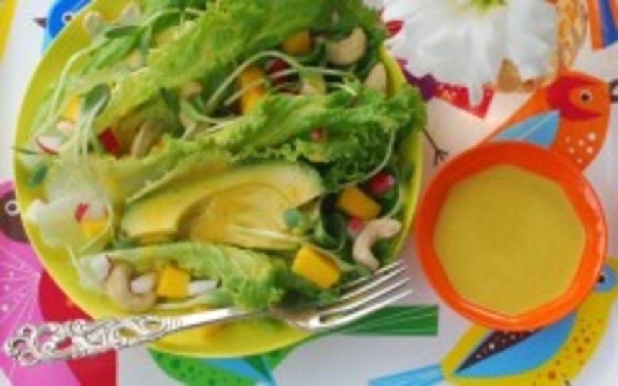 mango avokádo salát